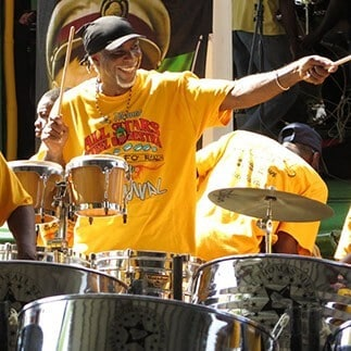 What to do in the Virgin Islands - steel pan