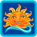 Sun Smiley Logo