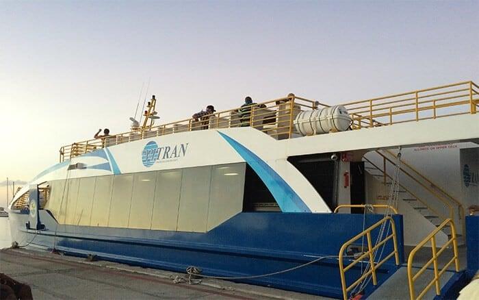 St. Thomas to St. John Passenger Ferry