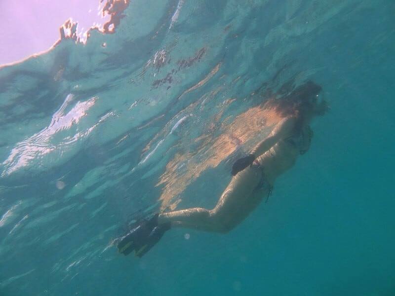 snorkeling in St. John, Virgin Islands