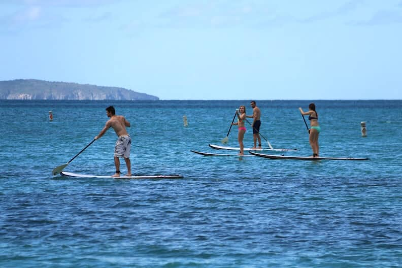 Stand-Up Paddleboarding in the Virgin Islands