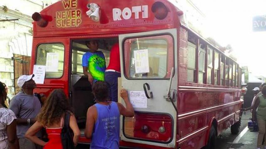Red Roti Bus St. Thomas