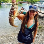 Leah with Lobster