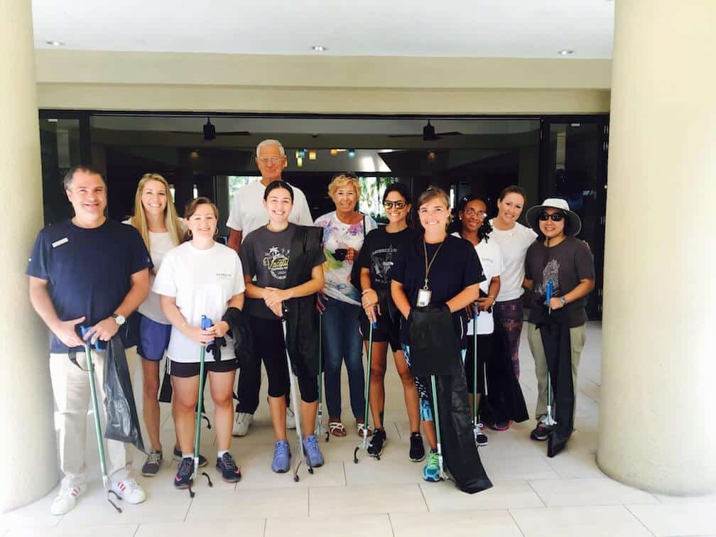 St-John-Clean-up-Crew-Westin-Resort-and-Villas