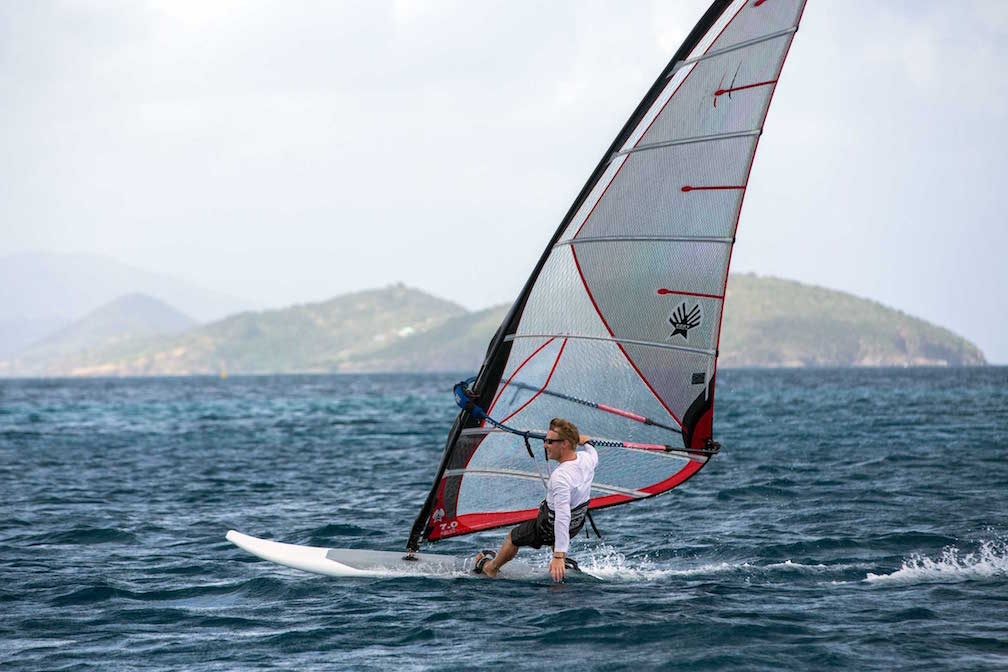 Cinnamon-Bay-St-John-Windsurfer