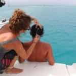 Haircut while sailing