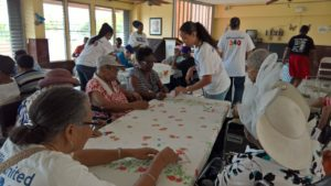 Volunteering Elderly St. Thomas United Way