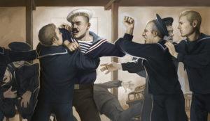 sailors fighting