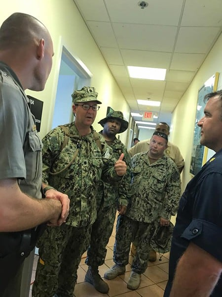 Navy on STJ Irma Relief