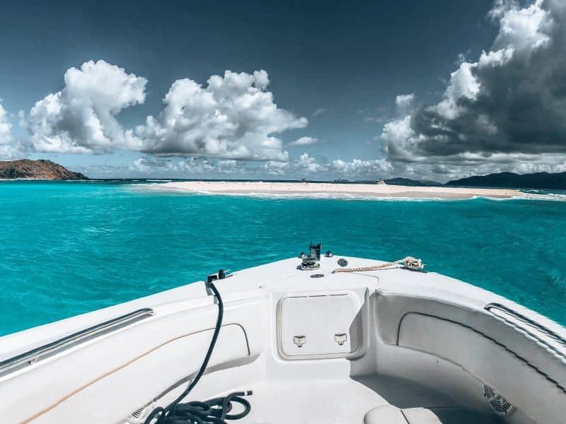 Chartering a Boat in the USVI