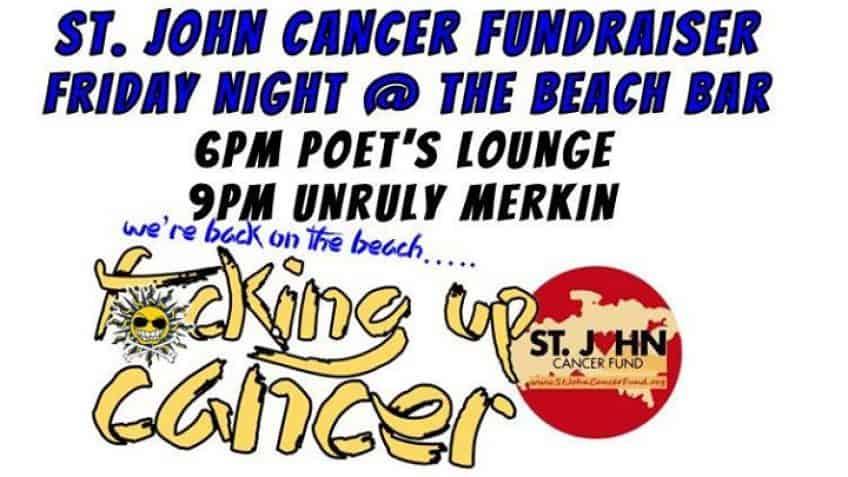St John Cancer Fundraiser at The Beach Bar