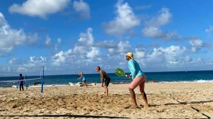 Free Beach Tennis Workshop