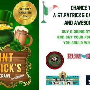 St. Patrick's Day Pre- Pub Crawl