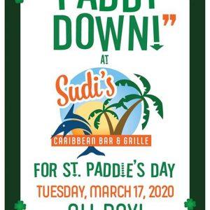 Sudi's St. Patrick's Day