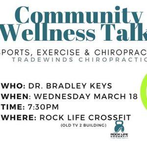 Community Wellness Talk