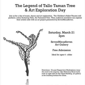The Legend of Tallo Taman Tree & Art Exploration Day