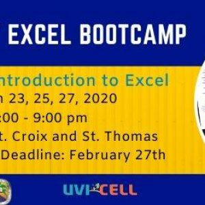 Introduction to Excel Bootcamp – Level 1 (St. Thomas)