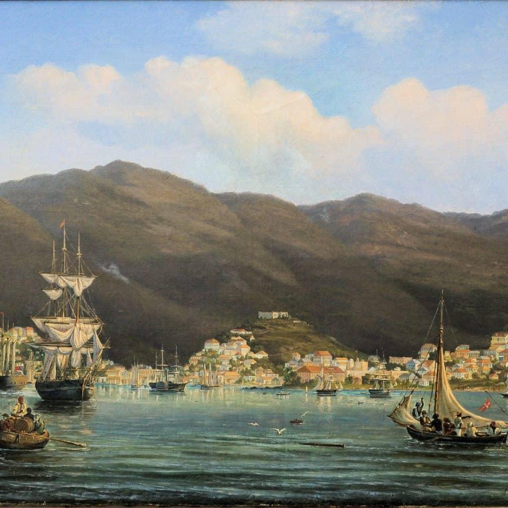 St. Thomas Harbor, Courtesy of St. Thomas Historical Trust