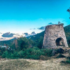 Sugar Mill on St. John