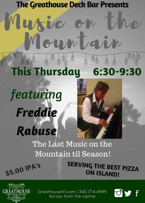 July 13 music on the mountain whattodo vi for Great house music